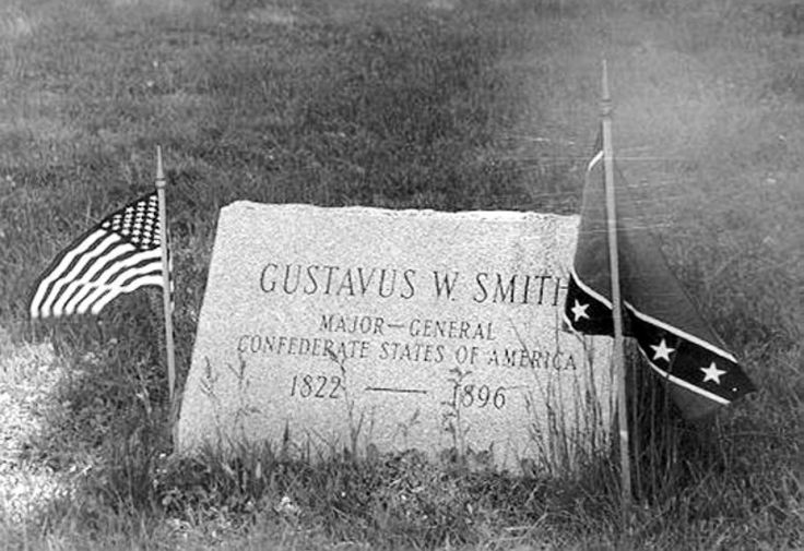 MAJOR GENERAL G.W. SMITH STONE, Cedar Grove Cemetery, New London, is significant historically because it is a memorial to an officer of the Confederate States of America. It is the only known stone of a Confederate soldier in Connecticut. The only other known recognition of Confederate service is that given by YALE CIVIL WAR MEMORIAL , New Haven, which lists Yale graduates who fought with both the Union and Confederate forces.
