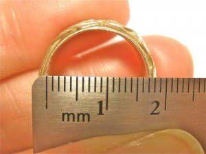 Quer saber numero seu anel?  como medir o tamanho do anel.
