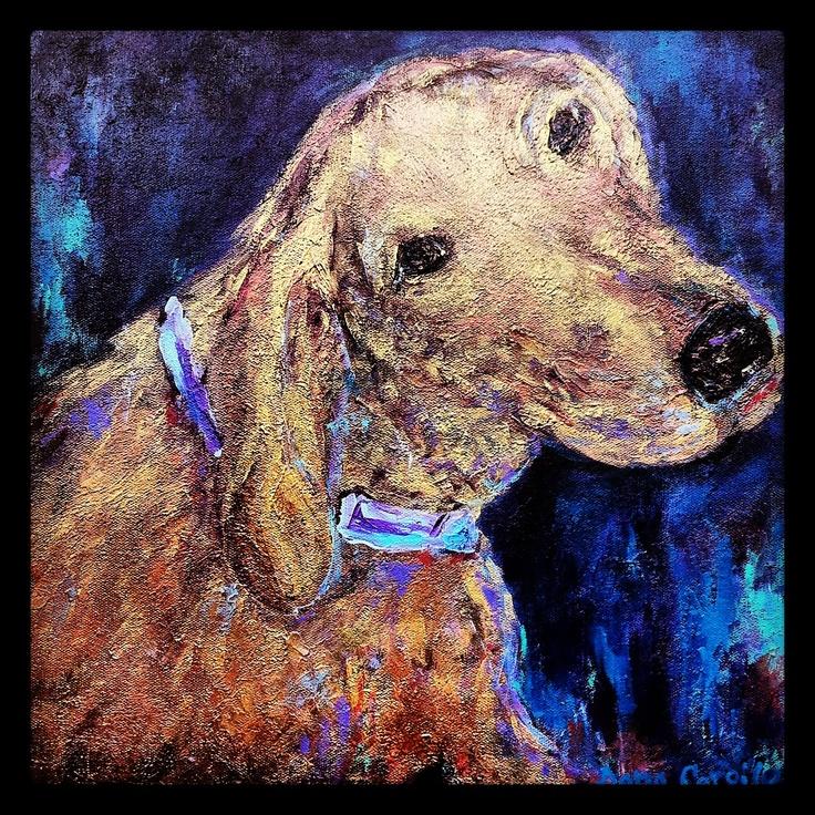 Dana Cargile #art;  Forever love....    #dog #art
