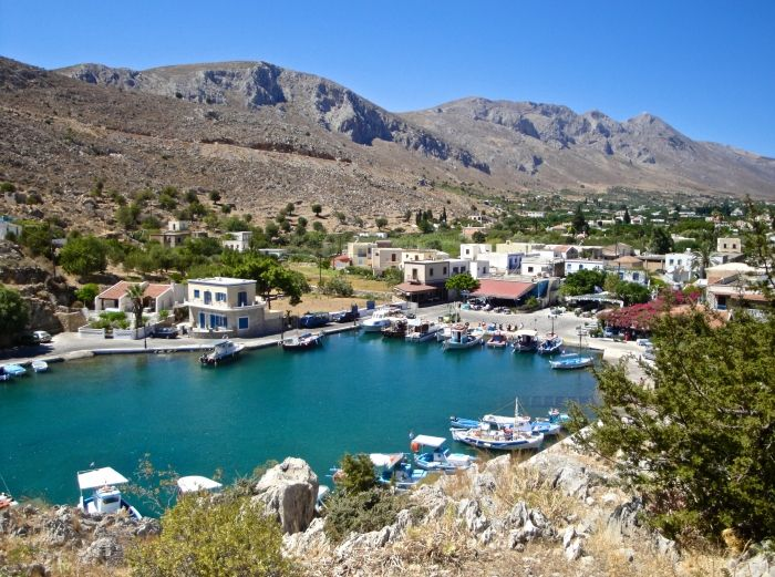 Fishing village of Vathy