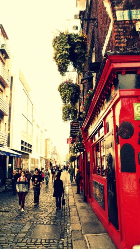 Dublin - Temple Bar.