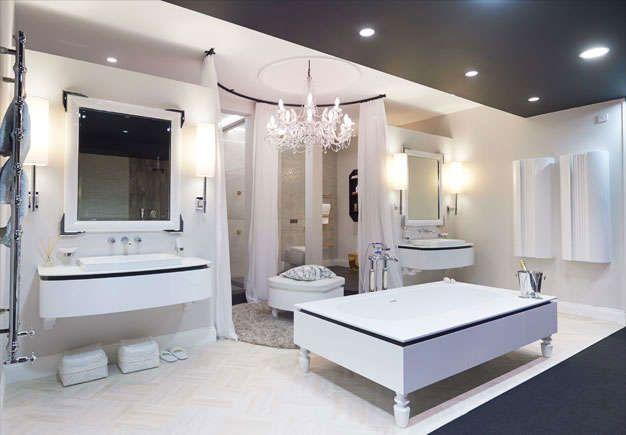 Bisazza organico freestanding bath for Bisazza bathroom ideas