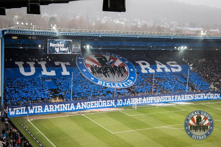 17. Spieltag DSC Arminia – Dynamo Dresden   LOKAL CREW ULTRAS