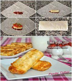 Çıtır Paçanga Böreği Tarifi