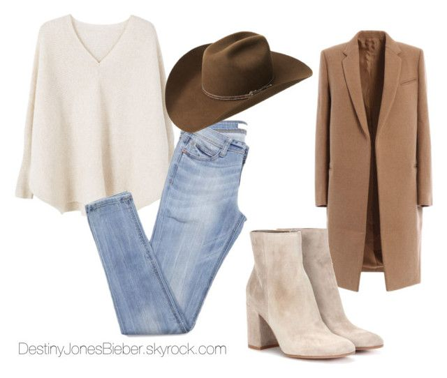 """""""cassie"""" by madisongglm on Polyvore featuring mode, MANGO, Bailey Western et Gianvito Rossi"""