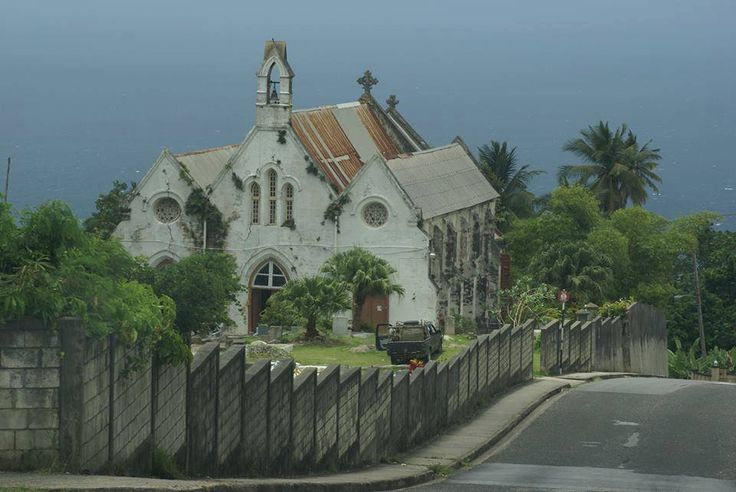 The view from Horse Hill, St. Joseph Barbados Sights