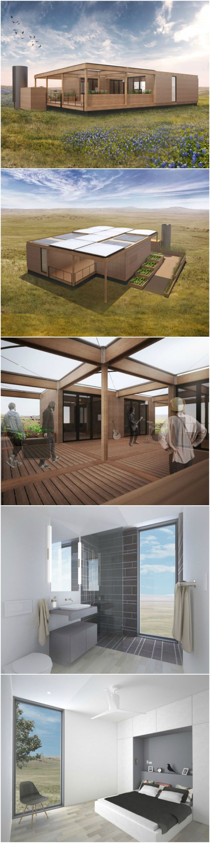 Texas Modular Home Will Run on Rainwater and Sunshine Alone