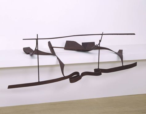Sir Anthony Caro 'Table Piece CCLXVI', 1975 © The estate of Anthony Caro/Barford Sculptures Ltd  http://www.tate.org.uk/art/artworks/caro-table-piece-cclxvi-t07587