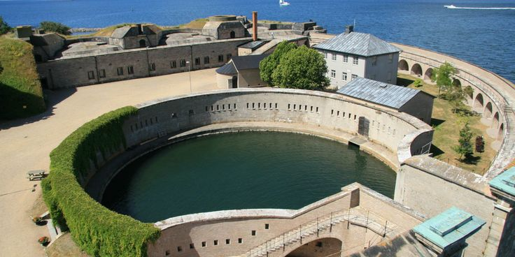 Kungsholms Fort is a large, over three hundred years old naval fortress off the west side of the island Tjurkö, around 5 kilometers south of Karlskrona.
