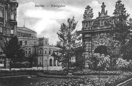 Szczecin - XX century