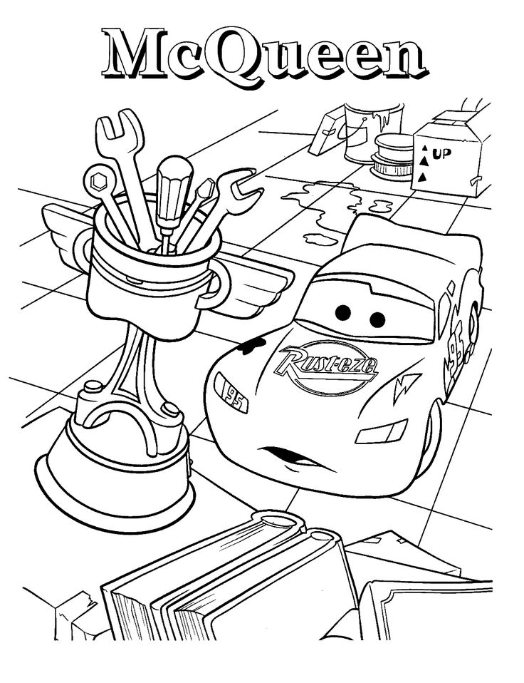 printable lightning mcqueen coloring pages - Free Large Images