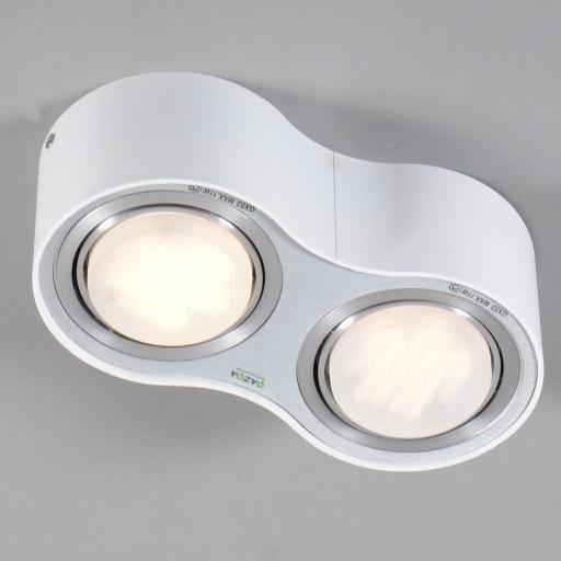 Plafonniere Flox 2 wit - Lampenlicht.be  Verlichting  Pinterest
