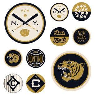 Jon Contino. Love that NY baseball logo.