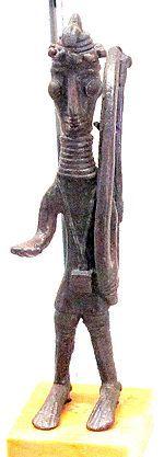 ∆ Ancient...Arciere nuragico in bronzo - Giganti di Mont'e Prama