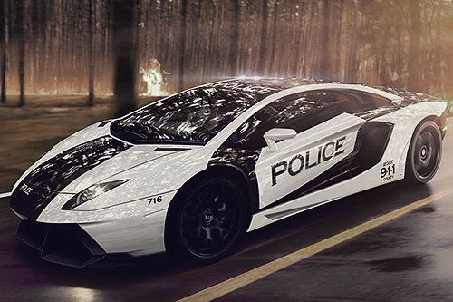 johnny-escobar:    Aventador Police Interceptor