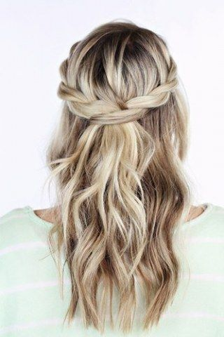 Festive Hairstyles Confirmation #Fest #Firmung #Hairstyles #Hairstyles for Longhair #Hairstyles … – Hair –