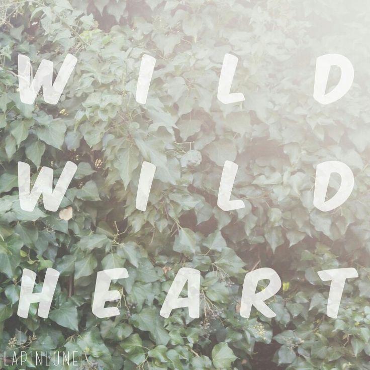 Wild wild heart.