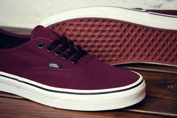 vans shoes maroon colour - Google Search
