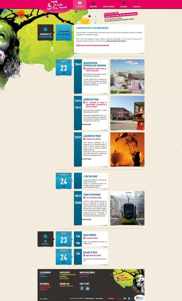 Best Event Calendar Images On   Editorial Design
