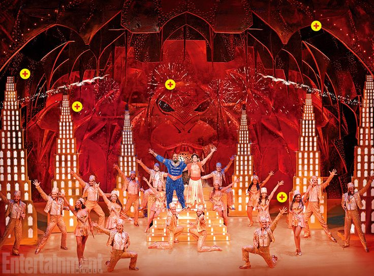 How Did Aladdin On Broadway Get The Set For Entertainment Weekly Aladdin Broadway Aladdin Musical Aladdin Theater
