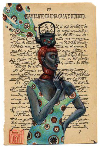 forma es vacío, vacío es forma: Lena Revenko - Revolenka ( III ) - ilustración