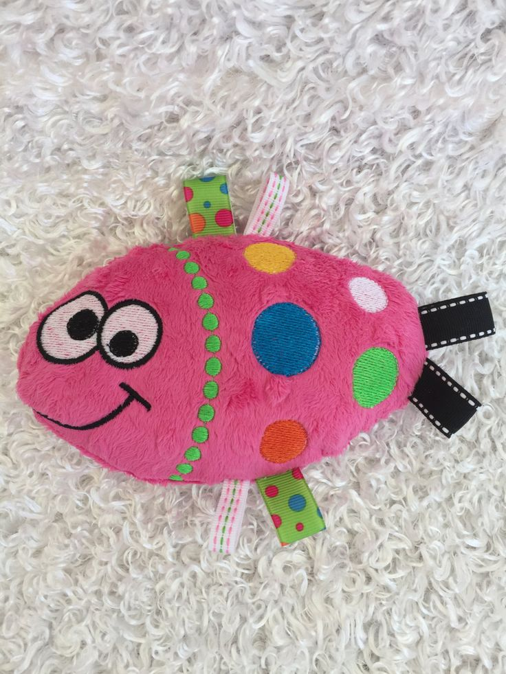Fish Stuffed Toy / Plush Stuffed Animal / Soft Toy / Taggie Toy / Baby Gift by…