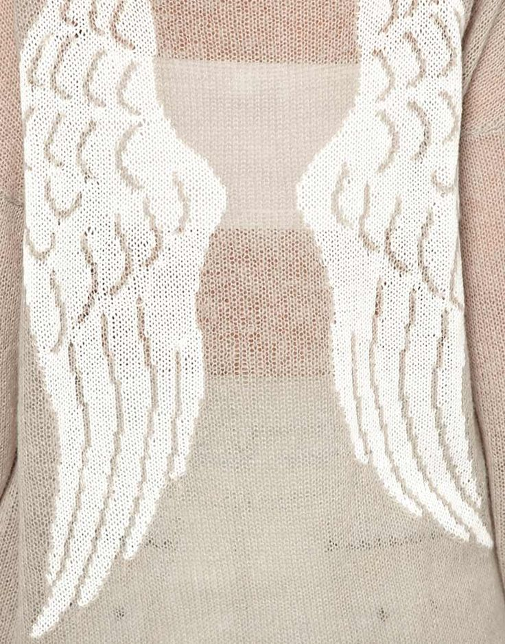 Image 3 of Wildfox White Label Guardian Angel Sweater
