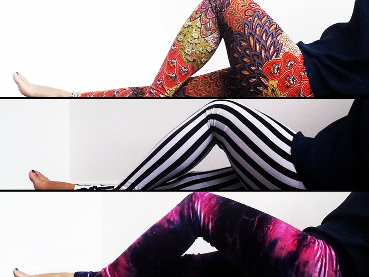 Oooohhhh...how to make your own leggings!! Guess I need to figure out how to work my sewing machine. O_o