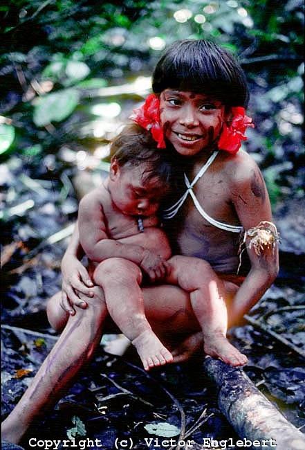 Yanomami family