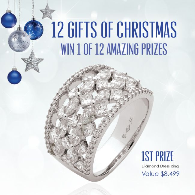 Join in the Christmas fun at York Jewellers and go in the draw to win one of 12 hand selected gifts. Go to www.yorkjewellers.com.au for details. #12GiftsOfChristmas