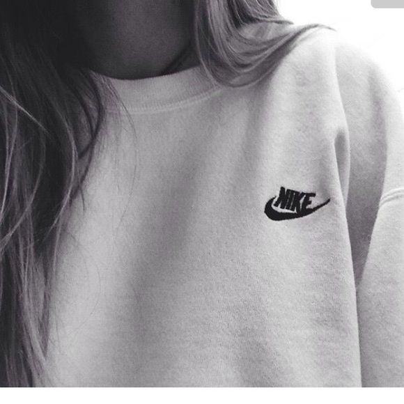 ISO Nike Crewneck In search of plain Nike Crewneck that has Nike in the top corner. Any color, size small if unisex. Medium in women's, Small in men's Nike Tops Sweatshirts & Hoodies