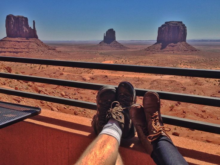 View From The Hotel At Monument Valley 5 2017 Monumentvalley Theview