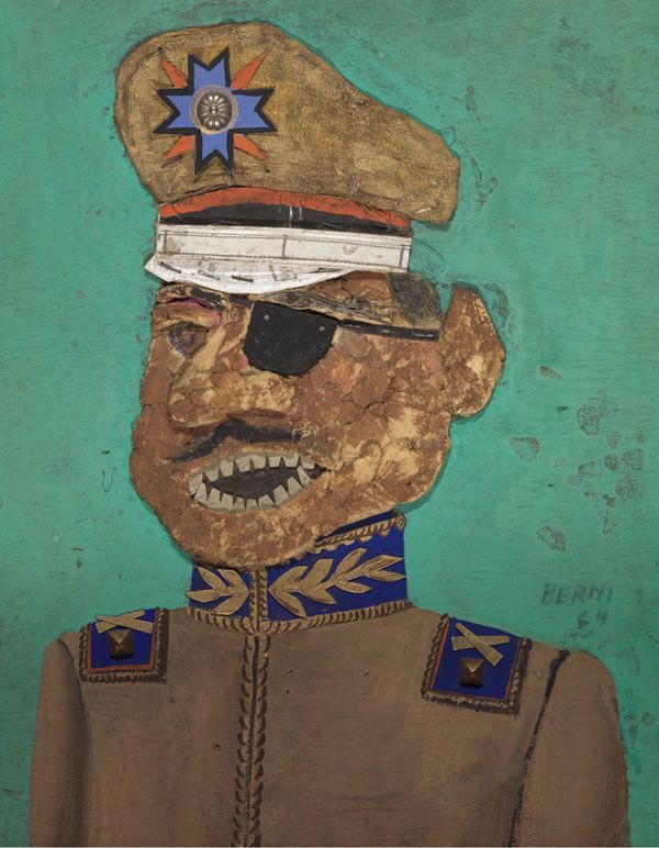 El coronel golpista II (1964) Antonio Berni