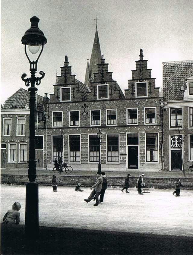 Alkmaar, Oudegracht jaren 50