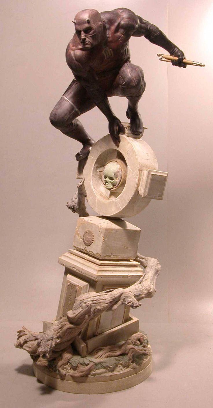 Escultura Demolidor - Escultura