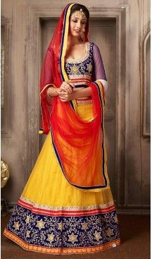 Yellow Color Net A Line Style Party Wear Lehenga Choli | FH479574042 #heenastyle, #designer, #lehengas, #choli, #collection, #women, #online, #wedding , #Bollywood, #stylish, #indian, #party, #ghagra, #casual, #sangeet, #mehendi, #navratri, #fashion, #boutique, #mode, #henna, #wedding, #fashion-week, #ceremony, #receptions, #ring , #dupatta , #chunni , @heenastyle , #Circular , #engagement