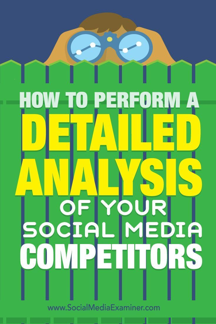 Do you want better results from social media?  If youre not getting the results you want from social media, a little research and the right tool can help you refine your social media strategy.  In this article, youll discover how to perform a detailed c