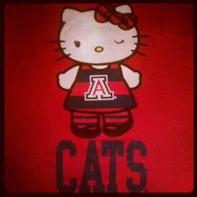 Arizona Wildcats Hello Kitty