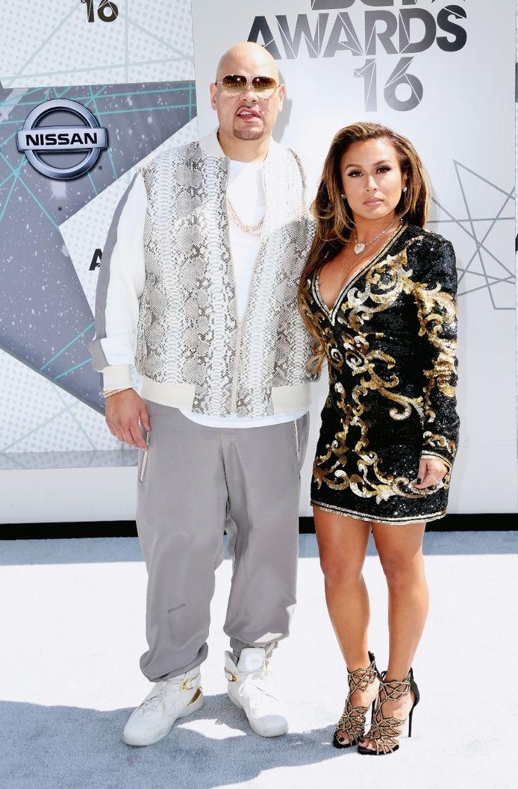 Fat Joe and his wife, Lorena Cartagena