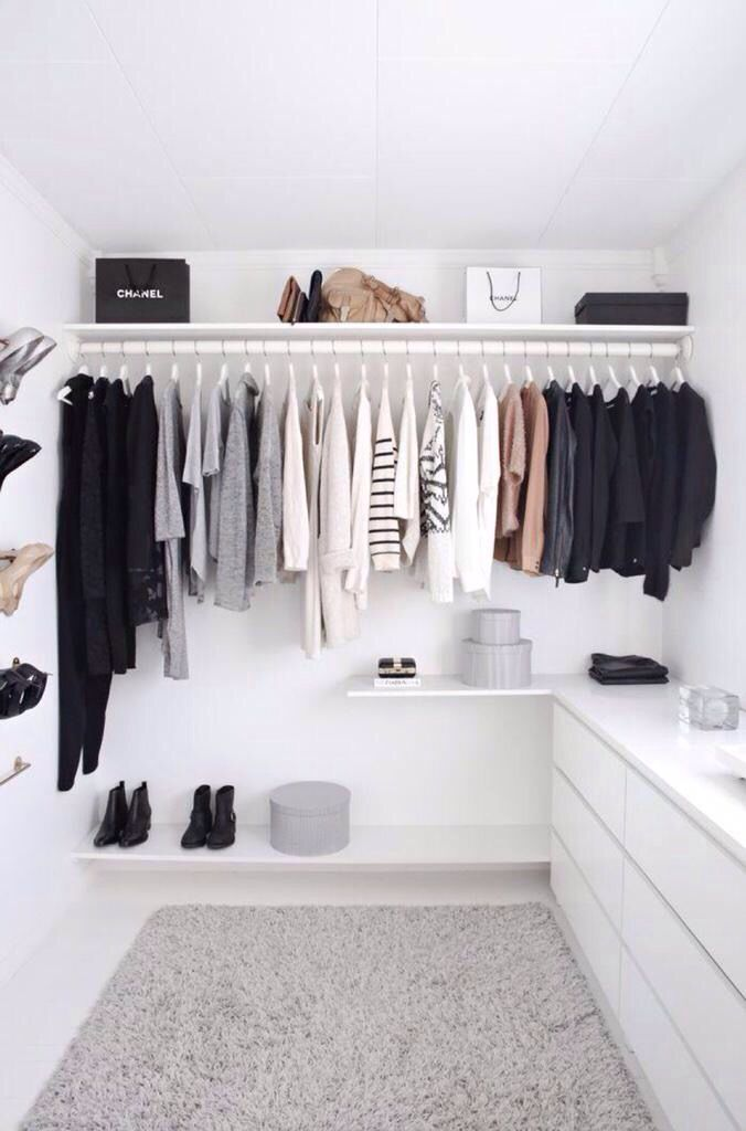 Closet goals much?