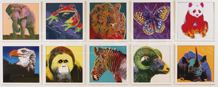 Warhol's Endangered Animals are in Moscow