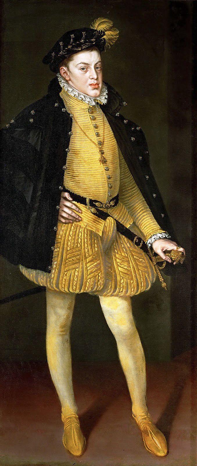 Alonso Sánchez Coello. El príncipe don Carlos. Hacia 1564. Kunsthistorisches Museum. Viena.