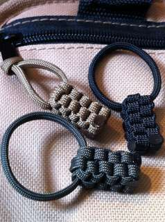Square 550 Mil Spec Paracord Zipper Pulls   Maxpedition, Sotech Gear