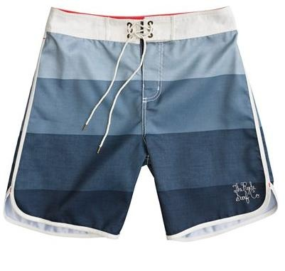 THE RYDE LEON BOARDSHORT NAVY