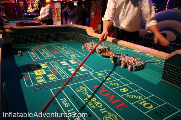 Crapless craps tables in las vegas