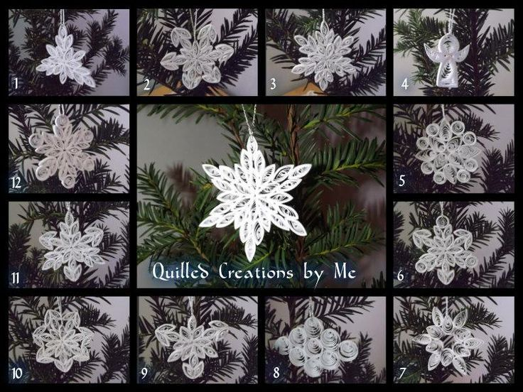 Quilled Creations Quilling Snowflake