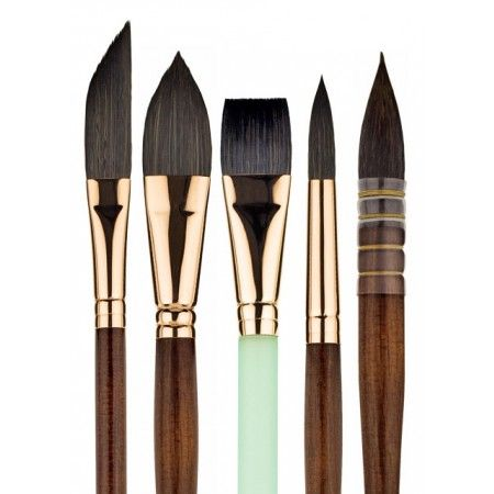 Princeton Neptune Series 4750 Synthetic Squirrel Brushes is Princeton's thirstiest brush ever, delivering oceans of color to the sheet. Experts in natural hair have actually been incredulous that this is actually synthetic.