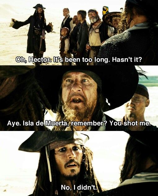 pirates of the caribbean 2 script