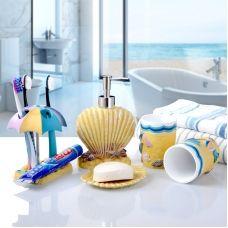 Bathroom Accessory Set Resin /Mediterranean