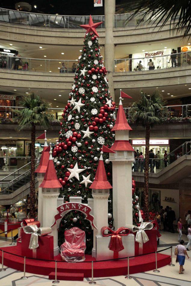 Navidad en caracas centro comercial el recreo arbolito de - Imagenes decoracion navidad ...